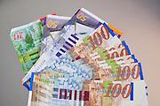 New Israeli Shekel bank notes