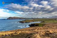Seaside beaches on Slea Head Drive at Dunquin, Ireland