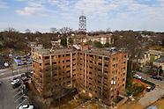 Atlanta's Hotel Clermont Undergoing Renovations - Aerial