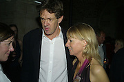 Robert McCrumb and Kate Mosse, Book party for Sepulchure by Kate Mosse. Crypt at at. Martin in the Fields. Trafalgar Sq. London. 31 October 2007. -DO NOT ARCHIVE-© Copyright Photograph by Dafydd Jones. 248 Clapham Rd. London SW9 0PZ. Tel 0207 820 0771. www.dafjones.com.