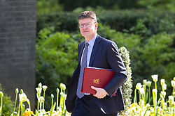 © Licensed to London News Pictures. 01/05/2018. London, UK. Secretary of State for Business, Energy and Industrial Strategy Greg Clarke arriving in Downing Street to attend a Cabinet meeting this morning. Cabinet positions have recently shuffled around, following Amber Rudd's resignation as Home Secretary, following the Windrush scandal. Photo credit : Tom Nicholson/LNP