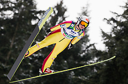 Jacqueline Seifriedsberger of Austria during Normal Hill Individual Competition at FIS World Cup Ski jumping Ladies Ljubno 2012, on February 11, 2012 in Ljubno ob Savinji, Slovenia. (Photo By Vid Ponikvar / Sportida.com)