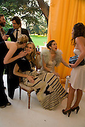 POLLY MORGAN, KIM HERSOV AND JESSICA DE ROTHSCHILD, Raisa Gorbachev Foundation Party, at the Stud House, Hampton Court Palace on June 7, 2008 in Richmond upon Thames, London,Event hosted by Geordie Greig and is in aid of the Raisa Gorbachev Foundation - an international fund fighting child cancer.  7 June 2008.  *** Local Caption *** -DO NOT ARCHIVE-© Copyright Photograph by Dafydd Jones. 248 Clapham Rd. London SW9 0PZ. Tel 0207 820 0771. www.dafjones.com.