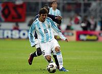 Fotball <br /> FIFA World Youth Championships 2005<br /> Enschede<br /> Nederland / Holland<br /> 11.06.2005<br /> Foto: Morten Olsen, Digitalsport<br /> <br /> USA v Argentina 1-0<br /> <br /> Neri Cardozo - Argentina