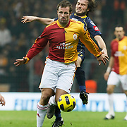 Galatasaray's Lucas NEILL (F) during their Turkish Super League soccer match Galatasaray between Bucaspor at the Turk Telekom Arena at Seyrantepe in Istanbul Turkey on Saturday 19 February 2011. Photo by TURKPIX