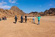 Image from the southern Sinai Desert, on an El Sherif Safari Tour, near Sharm el-Sheikh, Egypt.