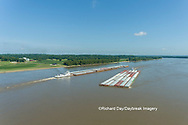 63807-01214 Barge on the Mississippi river near Thebes, IL