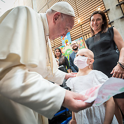 Pope Francis visits WCC, 2018