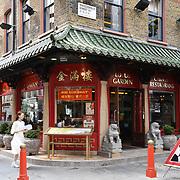 Lotus Garden Chinese restaurants in Chinatown London on July 19 2018, UK