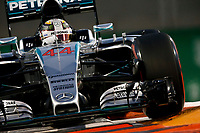 44 HAMILTON lewis (gbr) mercedes gp mgp w06 action during the 2015 Formula One World Championship, Abu Dhabi Grand Prix from November 27th to 29th 2015 in Yas Marina. Photo Florent Gooden / DPPI