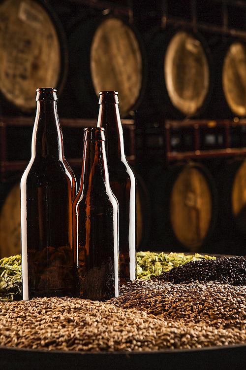 Ingrediants for beer at Heavy Seas Brewery in Maryland