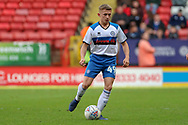 Rochdale midfielder Lewis Bradley (49) dribbling during the EFL Sky Bet League 1 match between Charlton Athletic and Rochdale at The Valley, London, England on 4 May 2019.