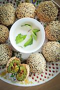 Falafel at Qwaider Al Nabulsi shop, United Arab Emirates