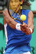 Roland Garros. Paris, France. June 5th 2006..Nadal against Hewitt..1/8 Finals.