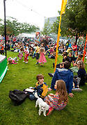The Thames Festival is an autumn weekend celebration each September on the banks of the river Thames. The Blue Ribbon Village in Potters field is the Thames Festival's family-friendly, interactive river and environment zone.