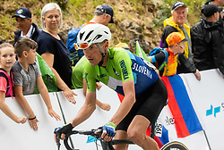 Janez BRAJKOVIC of Team Slovenia+ during 2nd Stage of 27th Tour of Slovenia 2021 cycling race between Zalec and Celje (147 km), on June 10, 2021 in Slovenia. Photo by Vid Ponikvar / Sportida