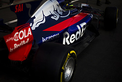 August 24, 2017 - Spa, Belgium - 55 SAINZ Carlos from Spain of team Toro Rosso car detail during the Formula One Belgian Grand Prix at Circuit de Spa-Francorchamps on August 24, 2017 in Spa, Belgium. (Credit Image: © Xavier Bonilla/NurPhoto via ZUMA Press)