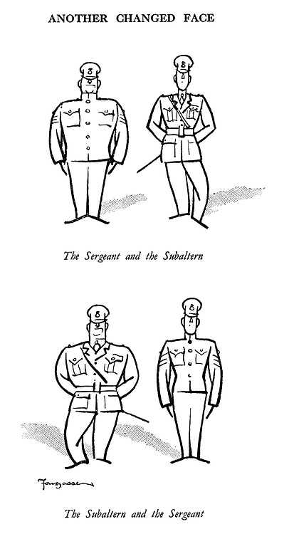 Another Changed Face. The Sergeant and the Subaltern. The Subaltern and the Sergeant.