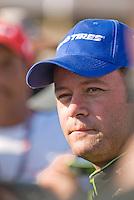 Robby Gordon in Cabo San Lucas at finish of 2007 Baja 1000