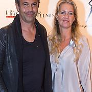 NLD/Amsterdam/20130923 - Grazia Red Carpet Awards 2013, Tony Cohen en partner