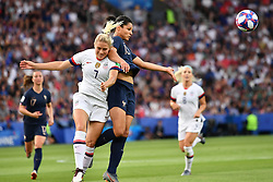 June 28, 2019 - Paris, ile de france, France - Valerie GAUVIN (FRA) in action during the first period of the quarter-final between FRANCE vs USA in the 2019 women's football World cup at Parc des Princes in Paris, on the 28 June 2019. (Credit Image: © Julien Mattia/NurPhoto via ZUMA Press)