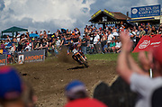 Jorge Prado did his best to sprint away from Jonass, but the world champion would not accept second place.