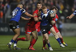 Bath's Tom Homer during the Gallagher Premiership match at the Recreation Ground, Bath.