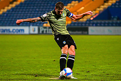 Harry Pell of Colchester United - Mandatory by-line: Ryan Crockett/JMP - 20/11/2020 - FOOTBALL - One Call Stadium - Mansfield, England - Mansfield Town v Colchester United - Sky Bet League Two