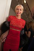 AMANDA CRONIN, Isabella Blow: Fashion Galore! private view, Somerset House. London. 19 November 2013