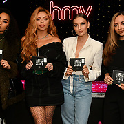 hmw Live - Little Mix sign copies of their latest album 'LM5' at hmv Oxford Street, London, UK