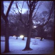 Winter in Prospect Park, Brooklyn