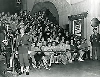 1944 Fans at the movie premiere of Winged Victory at Grauman's Chinese Theater