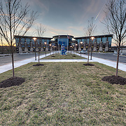 New site and buildings for the Kansas City Police Department's South Patrol and Traffic Division, near Bannister Road and Monroe Park Drive, Kansas City, MO.