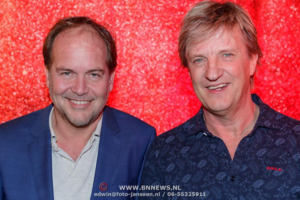 NLD/Amsterdam/20181030 - Boekpresentatie Wim Kieft - De Terugkeer, schrijver Michel van den Berg, Wim Kieft