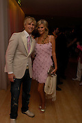 RICK PARFIT JNR and MALM JOHANSON . 'Polo' party  at The Westbury Hotel, Bond Street, London W1 on 26th April 2005.ONE TIME USE ONLY - DO NOT ARCHIVE  © Copyright Photograph by Dafydd Jones 66 Stockwell Park Rd. London SW9 0DA Tel 020 7733 0108 www.dafjones.com