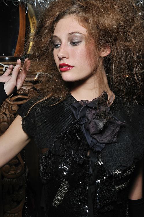 Kimberly Hendrix designs, December, 2010. Brian James Gallery Photography. RACHEL REED, model.