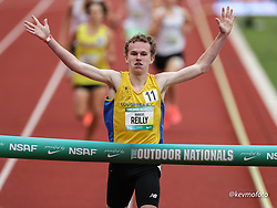 2021 High School Nationals<br /> NSAF Outdoor Track and Field Championship<br /> boys freshman mile heat 2