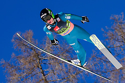March 23, 2019 - Planica, Slovenia - Peter Prevc of Slovenia in action during the team competition at Planica FIS Ski Jumping World Cup finals  on March 23, 2019 in Planica, Slovenia. (Credit Image: © Rok Rakun/Pacific Press via ZUMA Wire)