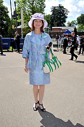 VISCOUNTESS MACKINTOSH OF HALIFAX at at the first day of the 2009 Royal Ascot racing festival on 16th June 2009.