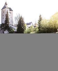 25.04.2018, Mariastein, AUT, ÖRV Trainingslager, UCI Straßenrad WM 2018, im Bild Patrick Konrad (AUT), Stefan Denifl (AUT) // during a Testdrive for the UCI Road World Championships in Mariastein, Austria on 2018/04/25. EXPA Pictures © 2018, PhotoCredit: EXPA/ JFK