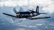 Chance-Vought F4U-7 Corsair of the Erickson Aircraft Collection.