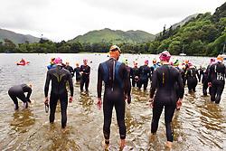 Open Water Swimming Event Ullswater lake, Cumbria UK