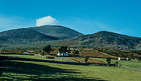 Shadow & sunshine in the Mountains of Mourne, near Newcastle, Co Down,  N Ireland, 197810000330L..Copyright Image from Victor Patterson, 54 Dorchester Park, Belfast, UK, BT9 6RJ..Tel: +44 28 9066 1296.Mob: +44 7802 353836.Voicemail +44 20 8816 7153.Skype: victorpattersonbelfast.Email: victorpatterson@me.com.Email: victorpatterson@ireland.com (back-up)..IMPORTANT: If you wish to use this image or any other of my images please go to www.victorpatterson.com and click on the Terms & Conditions. Then contact me by email or phone with the reference number(s) of the image(s) concerned.