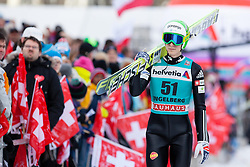 22.12.2013, Gross Titlis Schanze, Engelberg, SUI, FIS Ski Jumping, Engelberg, Herren, im Bild Jurij Tepes (SLO) // during mens FIS Ski Jumping world cup at the Gross Titlis Schanze in Engelberg, Switzerland on 2013/12/22. EXPA Pictures © 2013, PhotoCredit: EXPA/ Eibner-Pressefoto/ Socher<br /> <br /> *****ATTENTION - OUT of GER*****