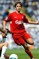 Harry Kewell<br />Liverpool 2004/05<br />Tottenham Hotspur v Liverpool (1-1) 14/08/04<br />The Premier League<br />Photo Robin Parker Fotosports International