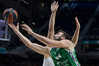 Unicaja Dejan Musli during Turkish Airlines Euroleague match between Real Madrid and Unicaja at Wizink Center in Madrid, Spain. November 16, 2017. (ALTERPHOTOS/Borja B.Hojas)