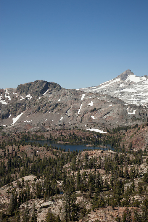 """""""Susie Lake 3"""" - Photograph of Susie Lake in the Tahoe Desolation Wilderness."""