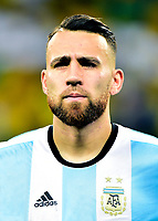 Conmebol - World Cup Fifa Russia 2018 Qualifier / <br /> Argentina National Team - Preview Set - <br /> Nicolas Hernan Gonzalo Otamendi