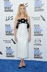 Scarlett Johansson at the 35th Annual Film Independent Spirit Awards held at the Santa Monica Beach in Santa Monica, USA on February 8, 2020.