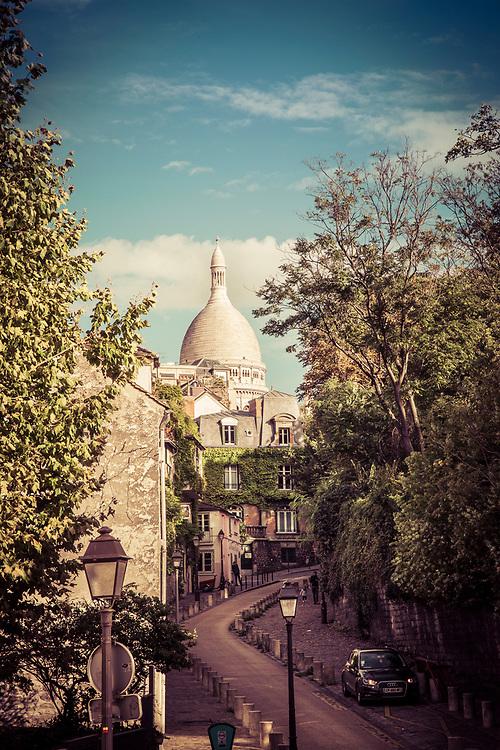 View of Sacré Couer, Montmartre, Paris